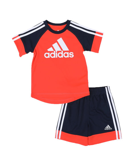 Adidas - 2 Pc Urban Sport T-Shirt & Shorts Set (3-24Mo)