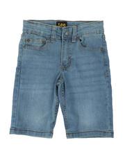 Boys - Stretch 5 Pocket Denim Shorts (4-7)-2498437