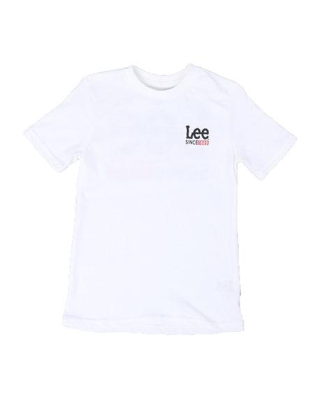 Lee - Back Hit Logo Ringer Tee (8-20)
