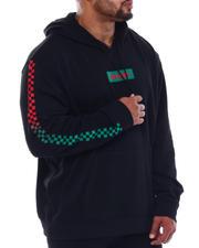 Brooklyn Cloth - Savage Box Checker Fleece Hoodie (B&T)-2499199