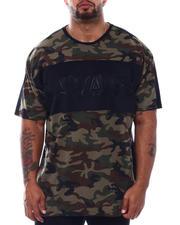 Shirts - Savage Colorblock Embossed T-Shirt (B&T)-2499254