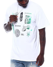 HUF - SCATTERED LEAVES S/S TEE-2498919