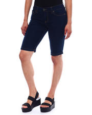 Shorts - Skinny Stretch Denim Bermuda-2499471