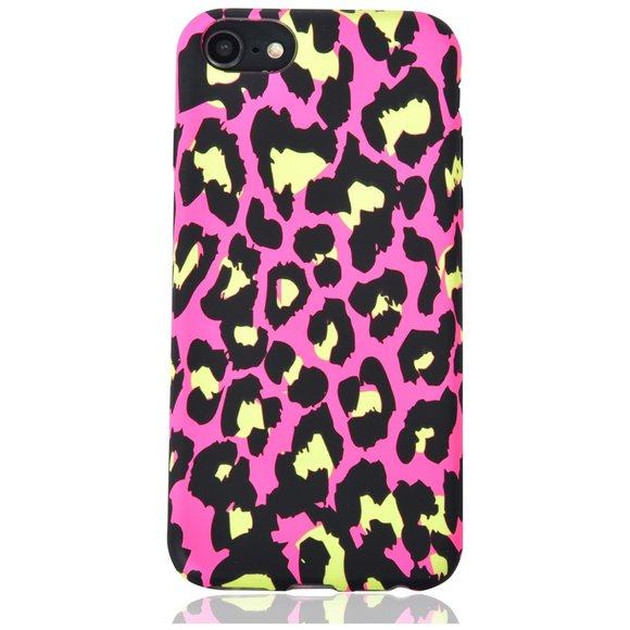 Buyers Picks - Neon Leopard Phone Case-IPhone 7/8