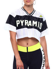Athleisure for Women - Pyramid Sportif Jersey Top-2499258