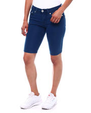 Spring-Summer-W - Skinny Stretch Denim Bermuda-2499435
