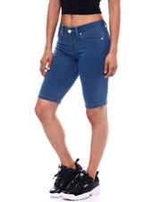 Spring-Summer-W - Skinny Stretch Denim Bermuda-2499450