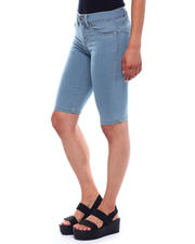 Spring-Summer-W - Skinny Stretch Denim Bermuda-2499480
