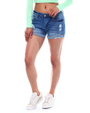 Spring-Summer - Distressed Roll Cuff Short-2499493