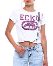 Tops - Ecko Rhino Logo Stripe Detail Crew Neck S/S T-shirt-2499577
