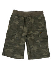 Lee - Stretch Twill Pull-On Cargo Shorts (8-20)-2498427