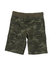 Lee - Stretch Twill Pull-On Cargo Shorts (4-7)-2498432