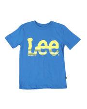 Tops - Stripe Logo Tee (8-20)-2498455