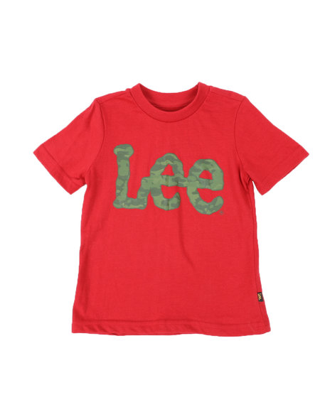 Lee - Camo Logo Tee (4-7)