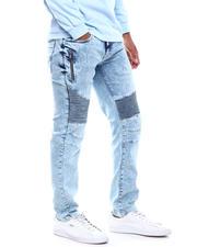 Men - Moto Jean w Thigh Zipper-2498835