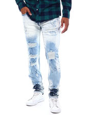Makobi - Shredded Jeans w Paint Splatters-2498018