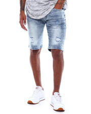 WT02 - Ripped Stretch Denim short-2498699