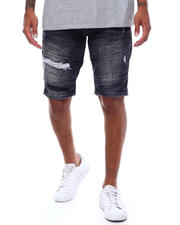 WT02 - Moto Stretch Denim Short-2498718