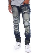 Makobi - Shredded Jeans w Paint Splatters-2498039