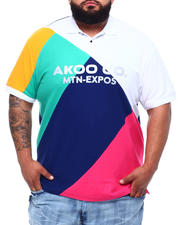 AKOO - Explorer Colorblock Polo (B&T)-2497727