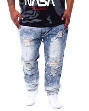 Makobi - Shredded Jeans With Paint Splatter Spots (B&T)-2498174