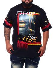 Men - Drip Too Hard T-Shirt (B&T)-2499021