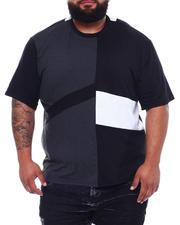 Brooklyn Cloth - Mix Media Colorblock T-Shirt (B&T)-2499124