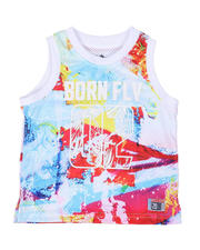 Born Fly - Poly Mesh Tank Top (2T-4T)-2500034