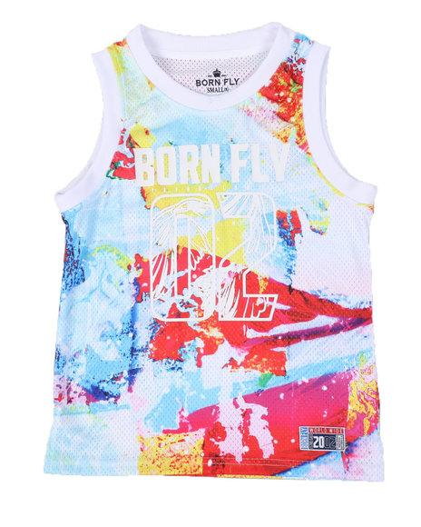 Born Fly - Poly Mesh Tank Top (8-20)