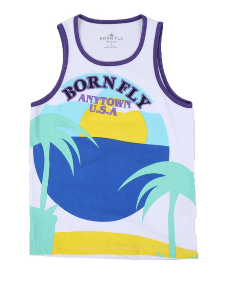 Born Fly - Jersey Tank Top (8-20)