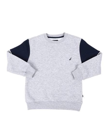 Nautica - Back Logo Crew Neck Sweatshirt (8-20)