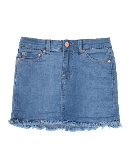 BCBGirls - Denim Fray Hem Skirt (7-16)