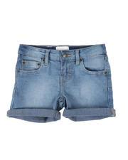 Girls - Cuffed Denim Shorts (4-6X)-2500206
