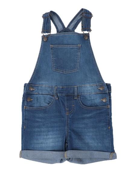 BCBGirls - Denim Shortalls (7-16)