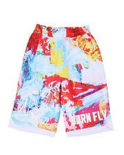 Born Fly - Poly Mesh Shorts (8-20)-2500029