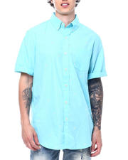 Mens-Holiday - Hibiscus SS Woven Shirt-2500753