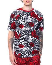 Men - Rose Print Tee-2501677