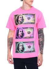Hard Turn - Neon Benjamins Tee-2500822