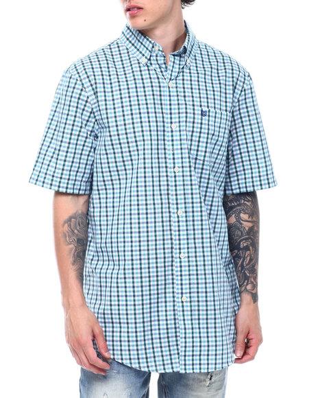 Chaps - Multi Ginghan SS Woven Shirt