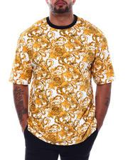 Big & Tall - Filigree Printed T-Shirt (B&T)-2501561
