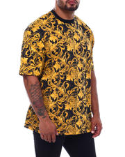 Shirts - Filigree Printed T-Shirt (B&T)-2501642