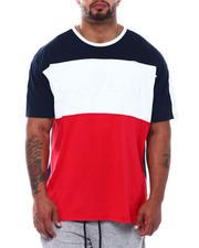 Big & Tall - Savage Colorblock Embossed T-Shirt (B&T)-2501733