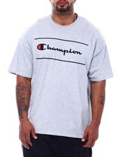 Big & Tall Faves - Champion S/S FRAME TEE (B&T)-2501796