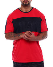 Big & Tall Faves - Savage Colorblock Embossed T-Shirt (B&T)-2501751
