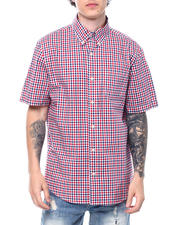 Button-downs - Americana Gingham SS Woven Shirt-2500547