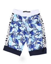 SWITCH - Camo Tricot Cut Block Tricot Shorts (8-20)-2502211