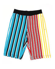 SWITCH - Vertical Striped French Terry Shorts (8-20)-2502250