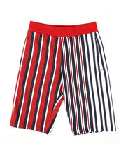 SWITCH - Vertical Striped French Terry Shorts (8-20)-2502255