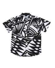 Button-downs - Graphic Print Woven Shirt W/ Pocket (8-20)-2502335