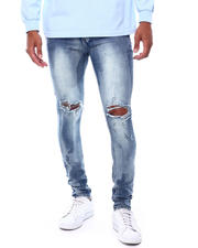 Spring-Summer-M - DIRTY BLEACH Blown out Knee Jean-2500613